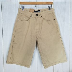 Rocawear Khaki Tan Twill Longboard Shorts